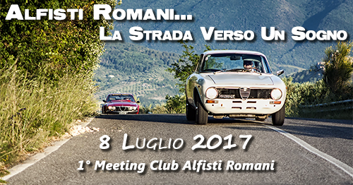 1° Meeting Alfisti Romani